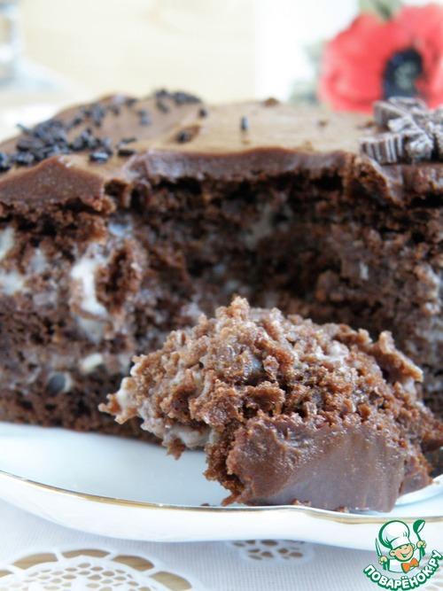 1493196321 73 Рецепт Торт шоколадный «Ретро» - Рецепт Торт шоколадный «Ретро»