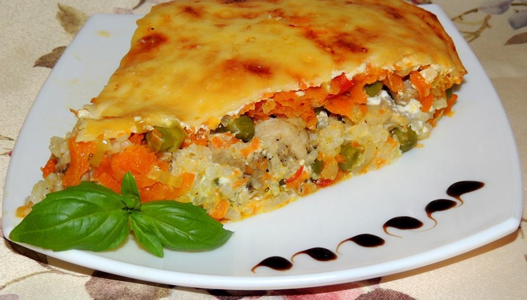 Рецепт Запеканка гречневая с овощами