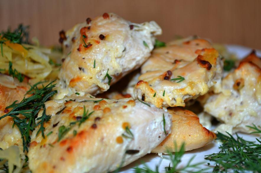 Рецепт Куриное филе в духовке