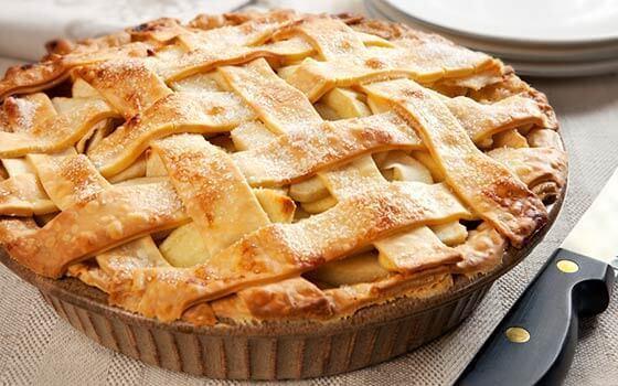 Рецепт Яблочный пирог