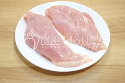 Куриное филе с помидорами и сыром «София»