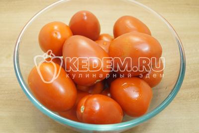 Маринованные помидоры с горчицей