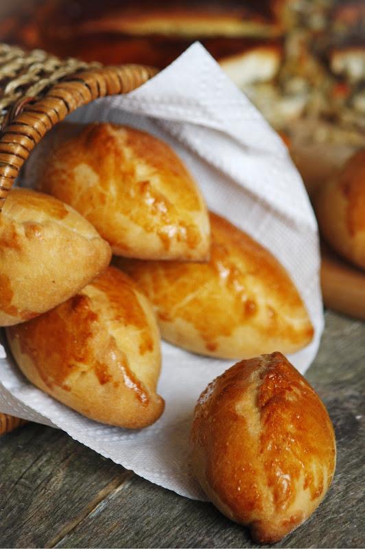 Рецепт Закусочные мини-пирожки к бульонам