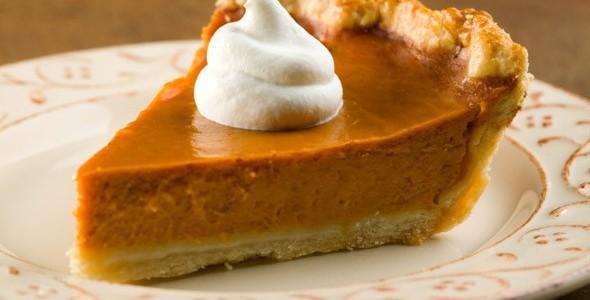 Рецепт Тыквенный пирог с безе