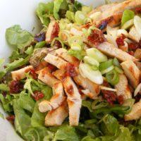 14185 Рецепт Овощной микс с куриным филе