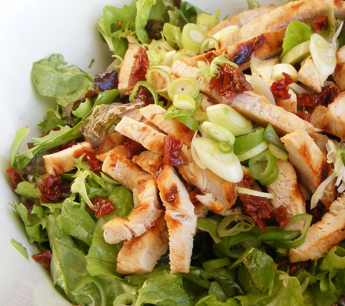 Рецепт Овощной микс с куриным филе