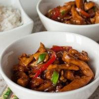 14685 Рецепт Стирфрай из курицы и кимчи