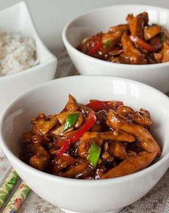 Рецепт Стирфрай из курицы и кимчи