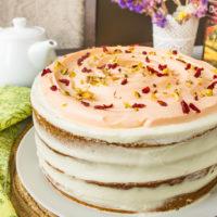 14727 Рецепт Тыквенный пряный торт