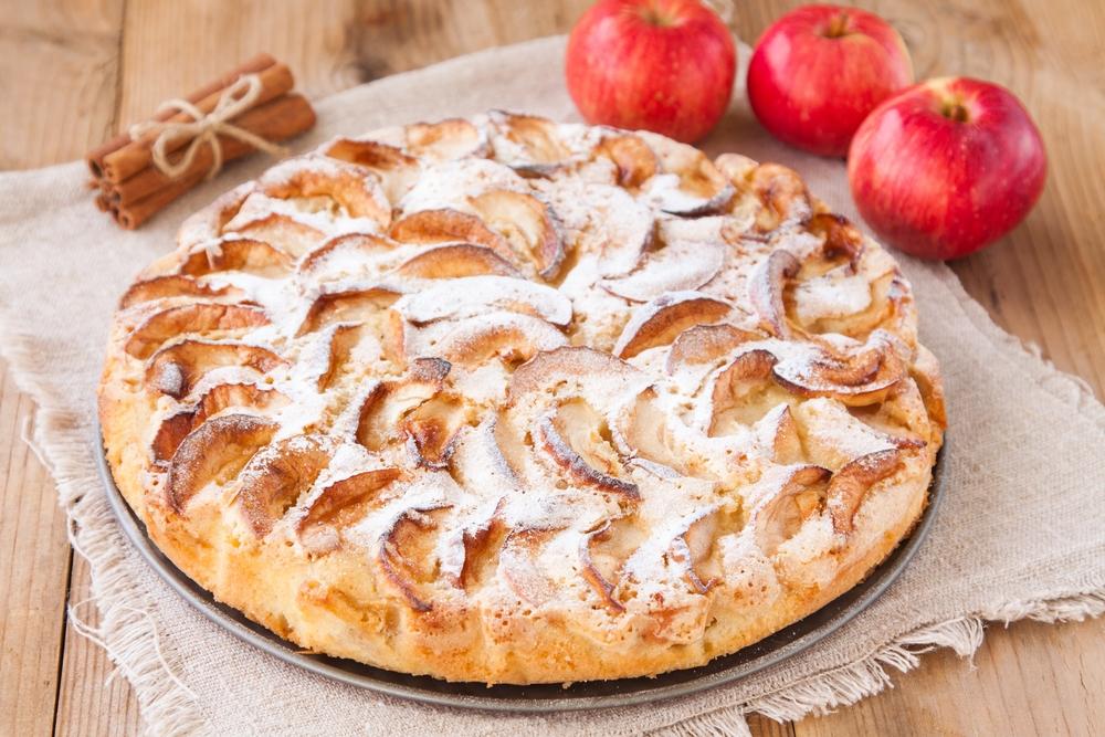 Рецепт Яблочный пирог «Невидимый»