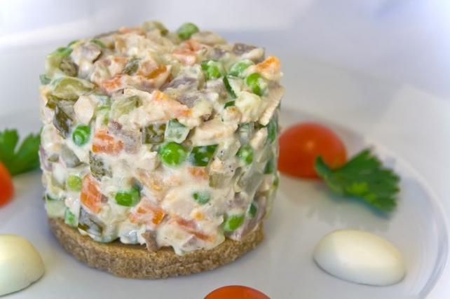 Салат аннушка классический рецепт с