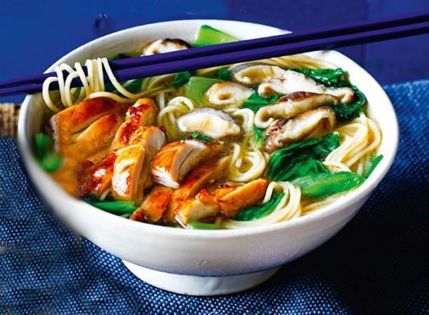 Рецепт Суп азиатский