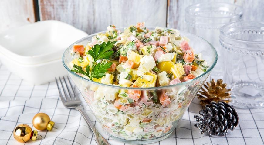 Рецепт Салат «Фрегат»