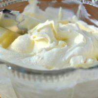 14942 Рецепт Творожно-сливочный крем с тропическими фруктами