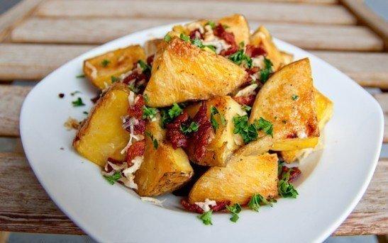 Рецепт Запечённый картофель в горчичном соусе «Ароматный»