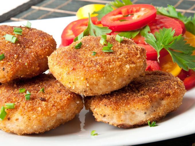 Рецепт Куриные зразы с пикантной начинкой