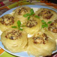 15158 Рецепт Куриные крученики с сыром и яйцом
