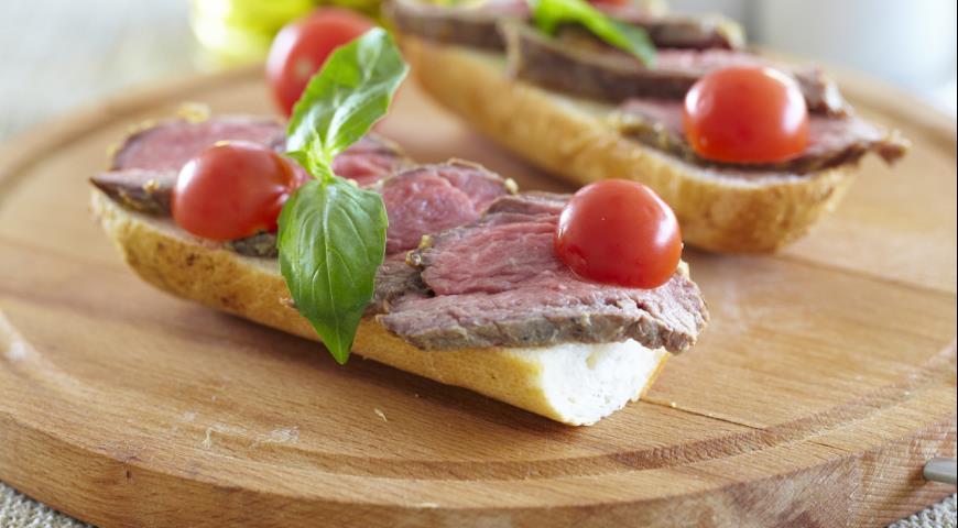 Рецепт Говядина для бутербродов