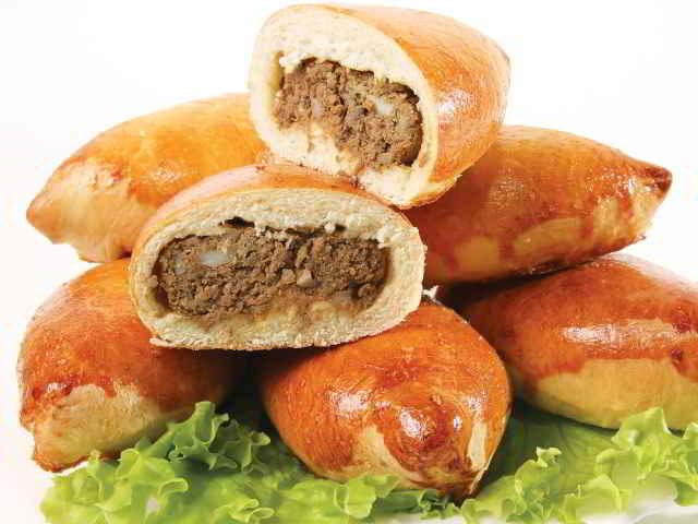 15289 Рецепт Пирожки с мясом