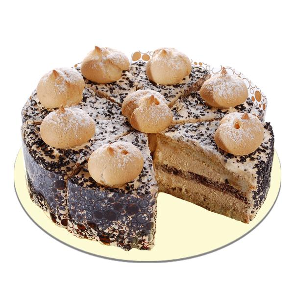 15305 Рецепт Заварной торт «Золотые купола»