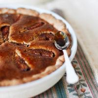 23777 200x200 - Рецепт Шоколадно-грушевый пирог с коньяком