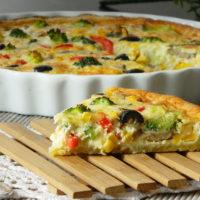 15341 Рецепт Постный овощной пирог
