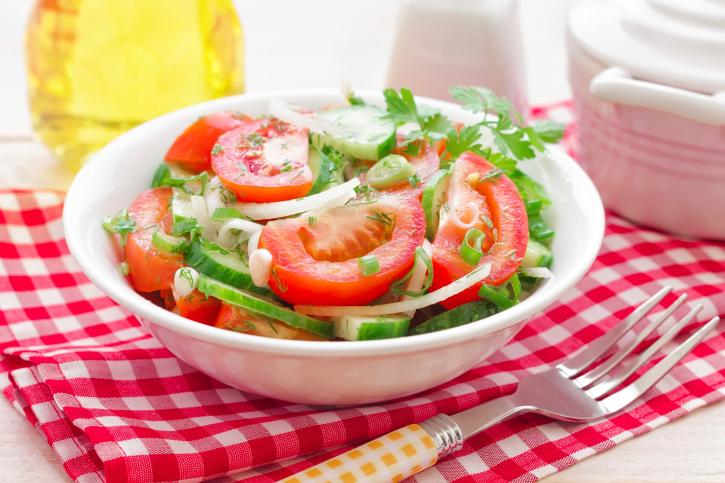 Рецепт Андалузский салат с овощами