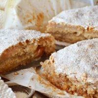 15473 Рецепт Овсяно-яблочный пирог