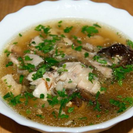 15510 Рецепт Суп с фасолью и черносливом