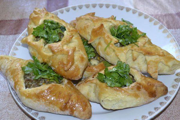 Рецепт Расстегаи со свининой