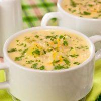 25927 200x200 - Рецепт Молочный суп с горохом и цветной капустой