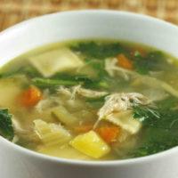 15662 Рецепт Диетический суп по-японски