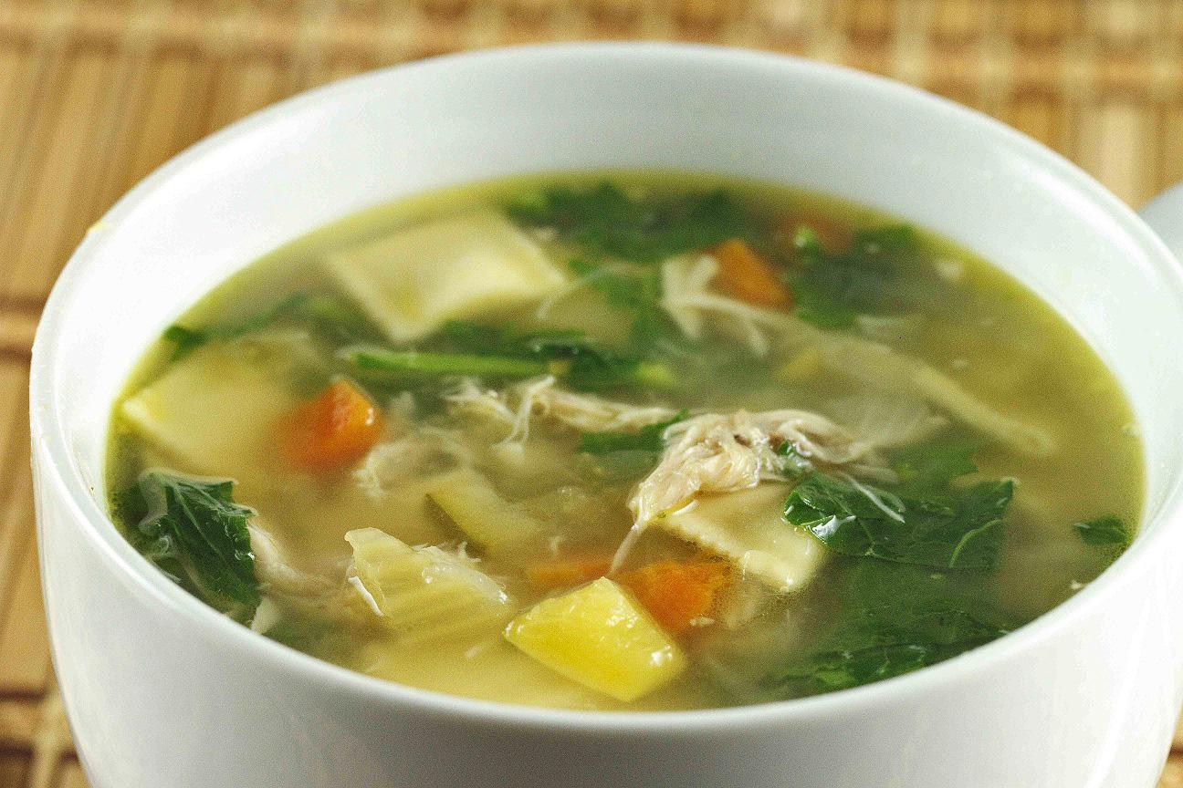 Рецепт Диетический суп по-японски