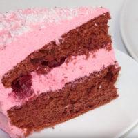 """15705 Рецепт Торт """"Розовый фламинго"""""""
