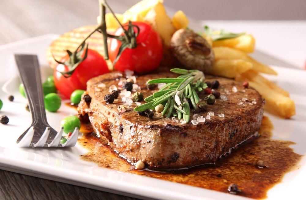 15721 Рецепт Глазированный стейк из свинины