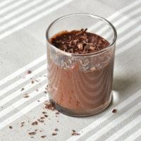 15833 Рецепт Постный шоколадный мусс