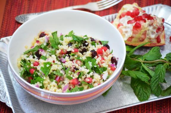 Рецепт Салат с булгуром