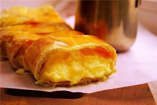 Рецепт Штрудель сырный