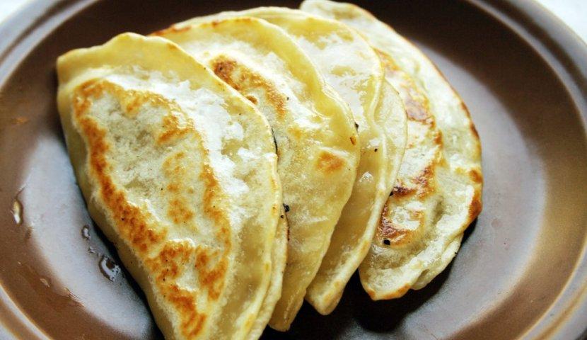 Рецепт Арабские лепешки с мясом «Муртабак»