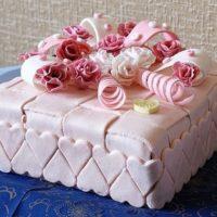 16058 Как красиво оформить праздничный торт
