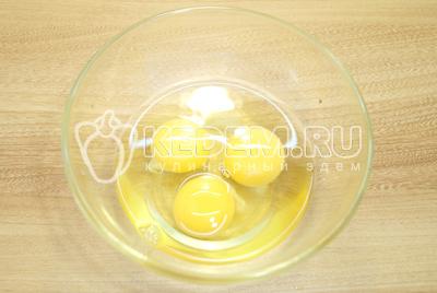 Омлет с помидорами и рукколой «Алонзо»