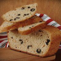 16103 Рецепт Хлеб с маслинами в хлебопечке