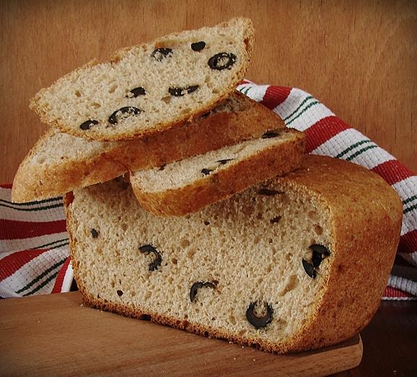 Рецепт Хлеб с маслинами в хлебопечке