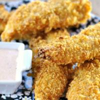 16107 Рецепт Куриные палочки с горчичным соусом