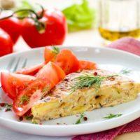16109 Рецепт Куриный пирог-запеканка