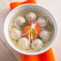 16159 Рецепт Сингапурский суп Баксо