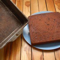 16163 Рецепт Постный бисквит