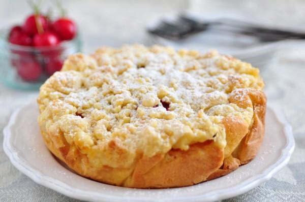 Рецепт Творожная запеканка с яблоком