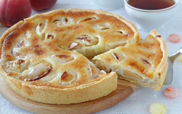 Рецепт Яблочный песочный пирог