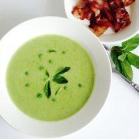 30848 200x200 - Рецепт Крем-суп из зеленого горошка с мятой и беконом